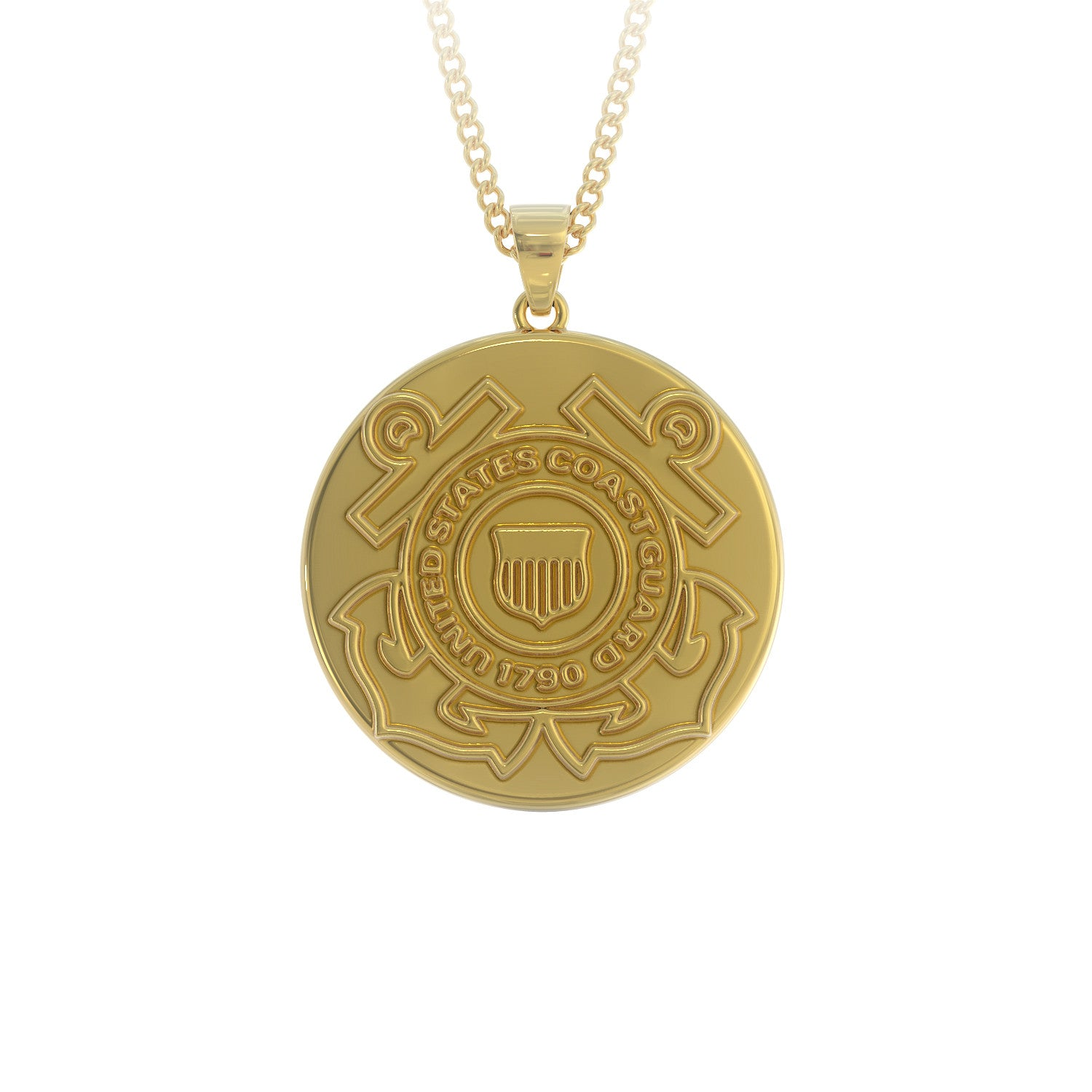 Us Coast Guard Necklace