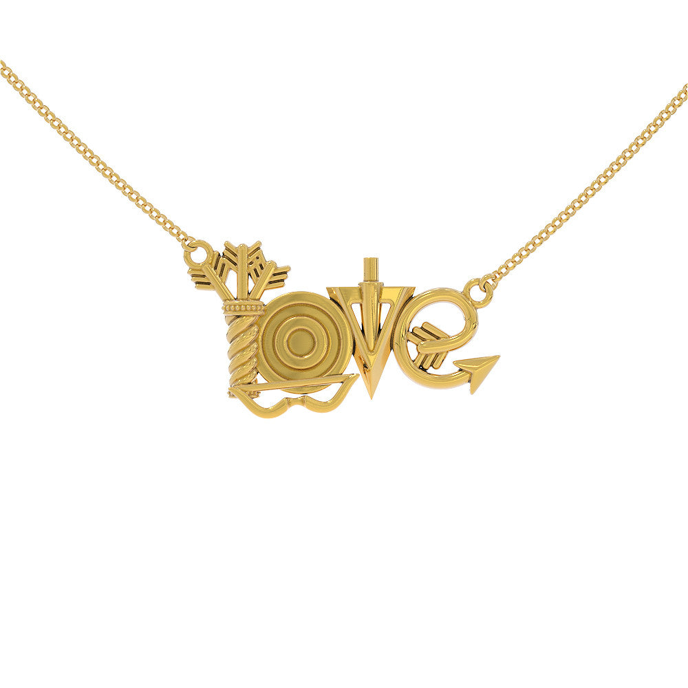 Archery Love Necklace