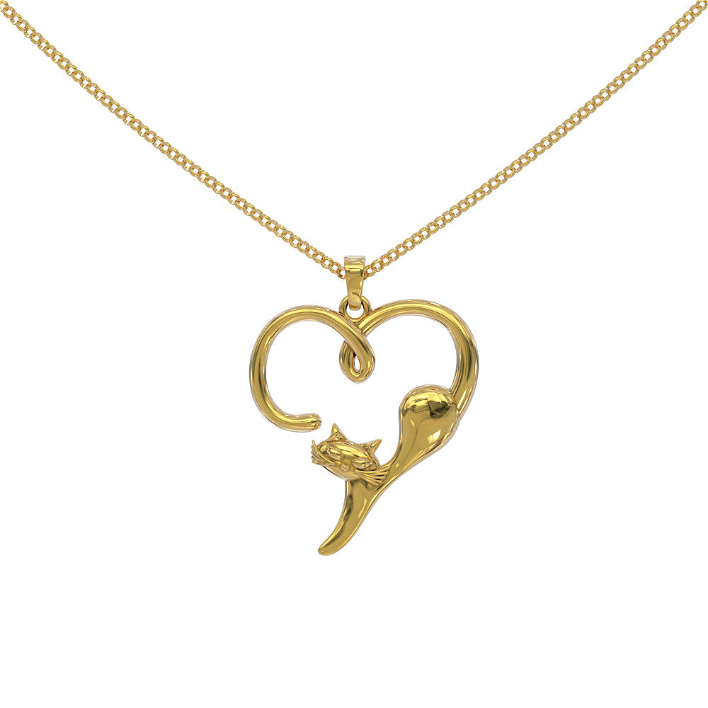 I Heart Cats Pendant