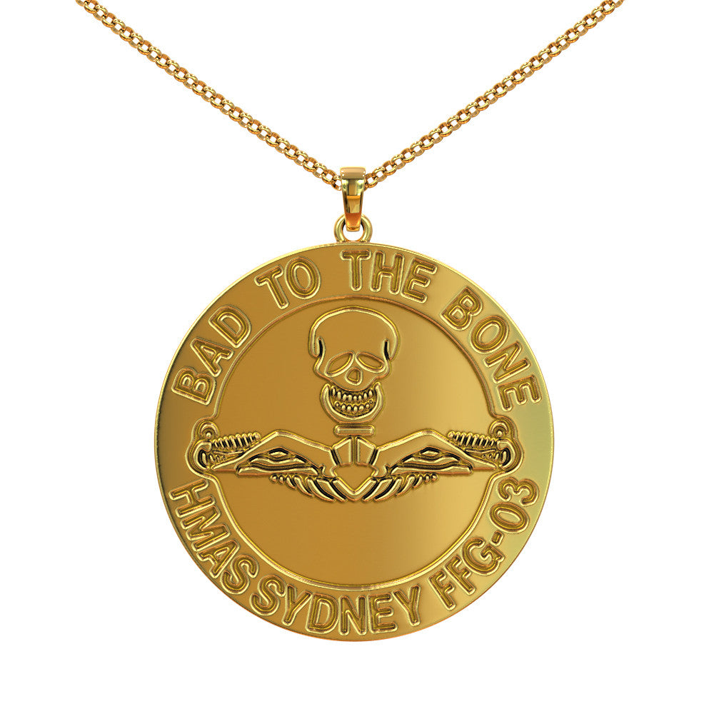 HMAS Sydney IV Bad to the Bone Pendant
