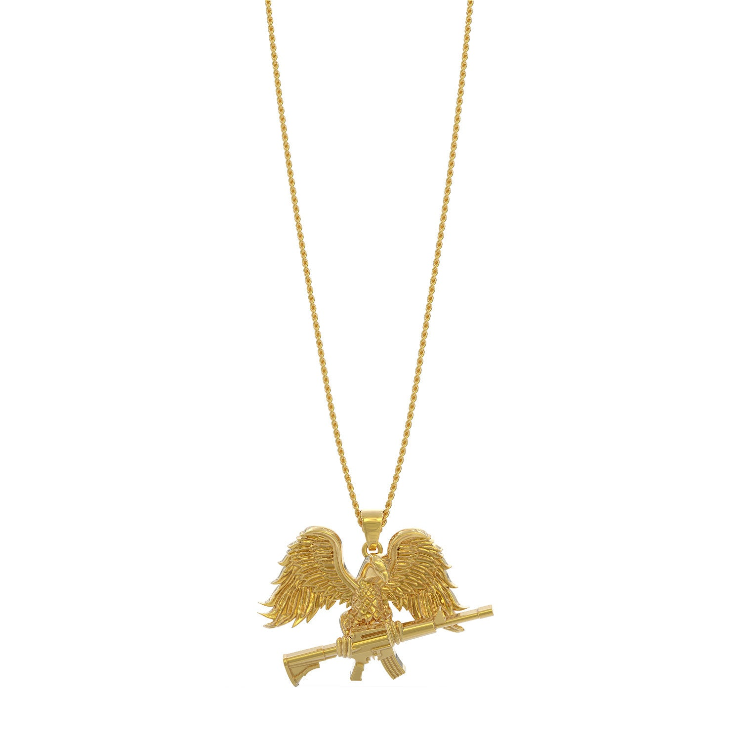American Freedom Fighter Necklace