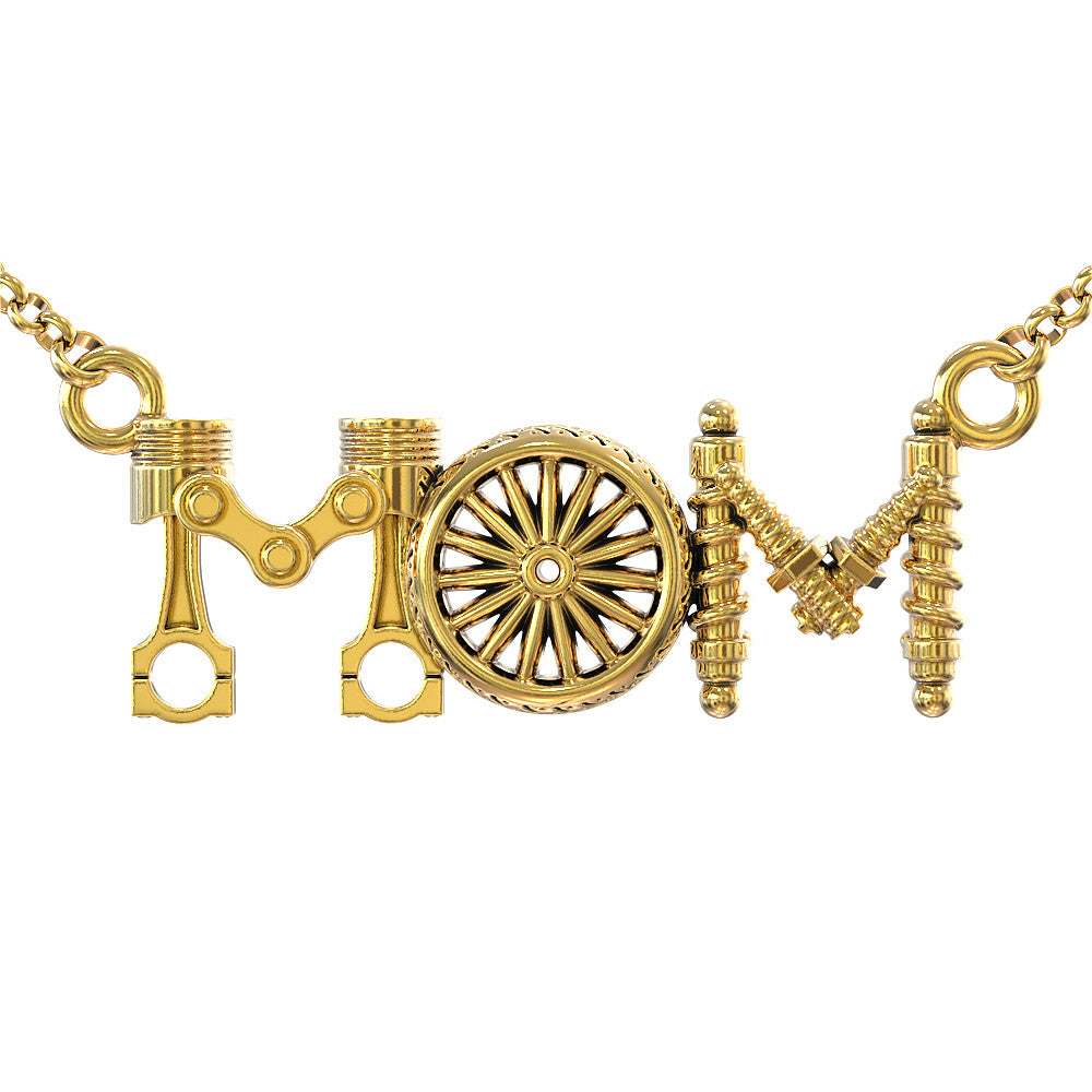Biker Mom Pendant - STRICTLY LIMITED EDITION