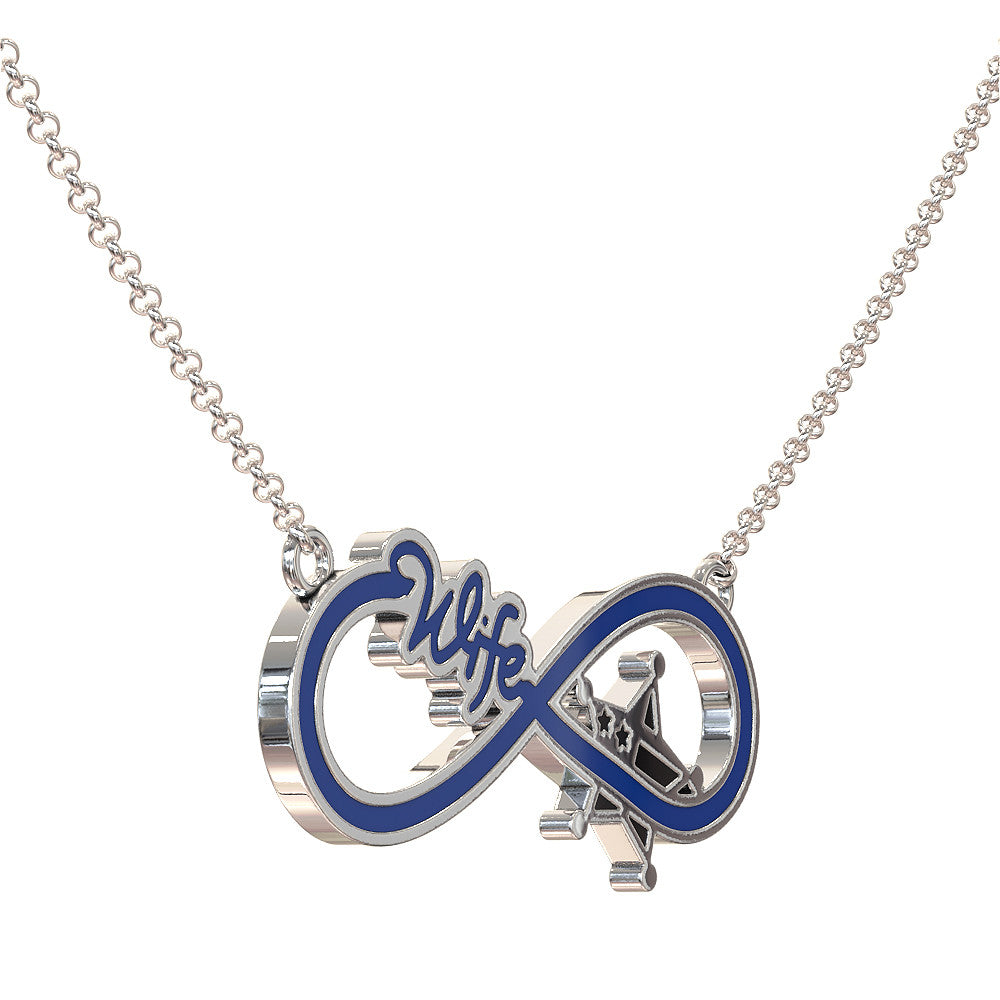Infinity Sheriff Wife Necklace