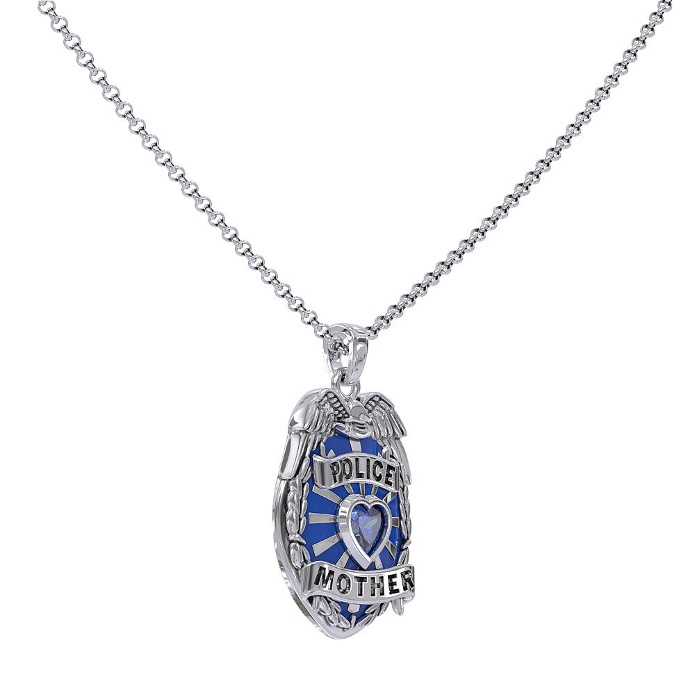 Police Mother Pendant