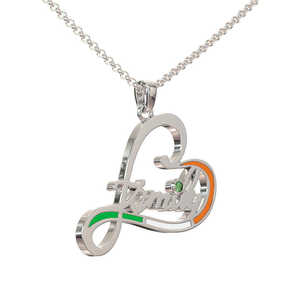 Irish Family Love Pendant