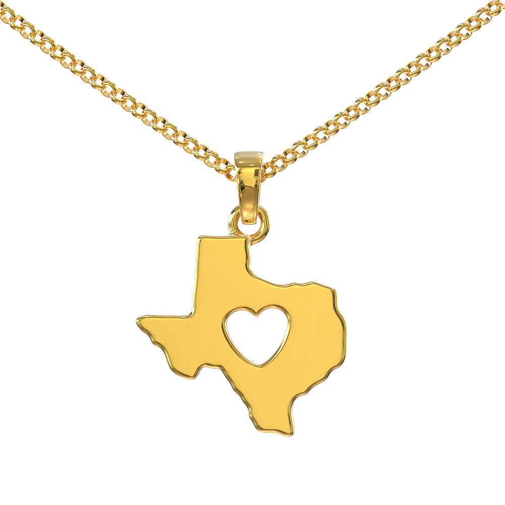 Texas Girl Necklace - STRICTLY LIMITED EDITION