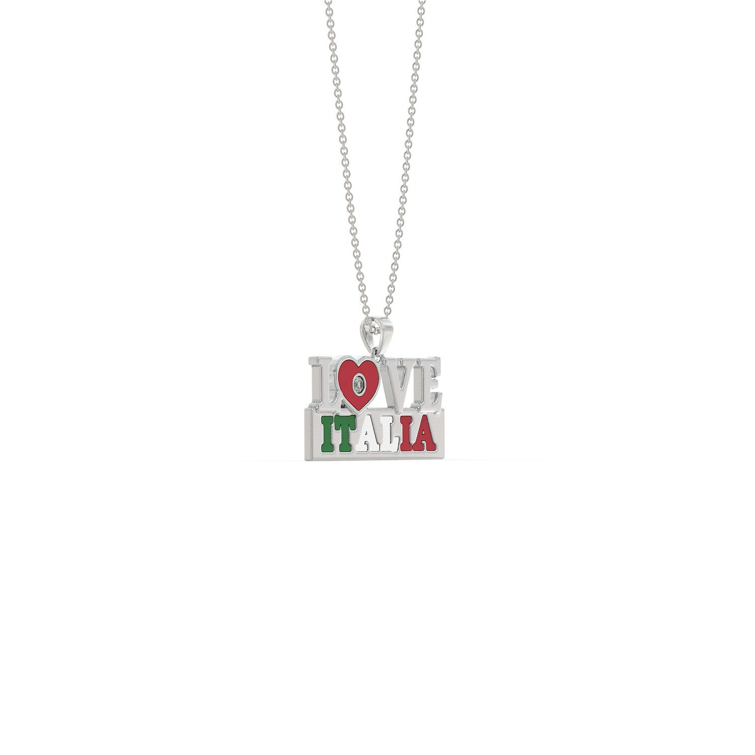 Love Italy Necklace