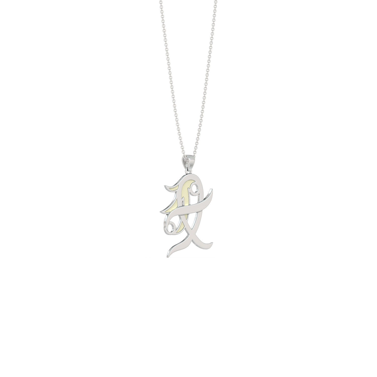 luna constellation love necklace by virgo collections