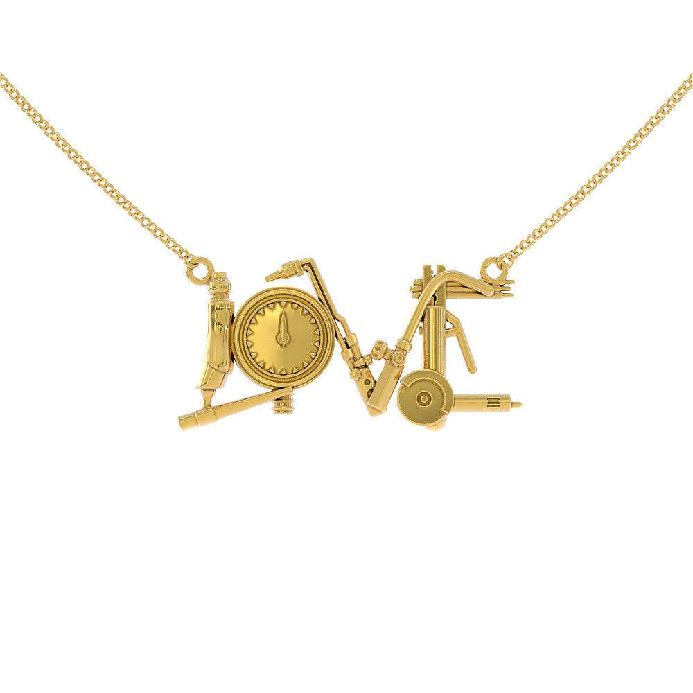 Welder Love Necklace