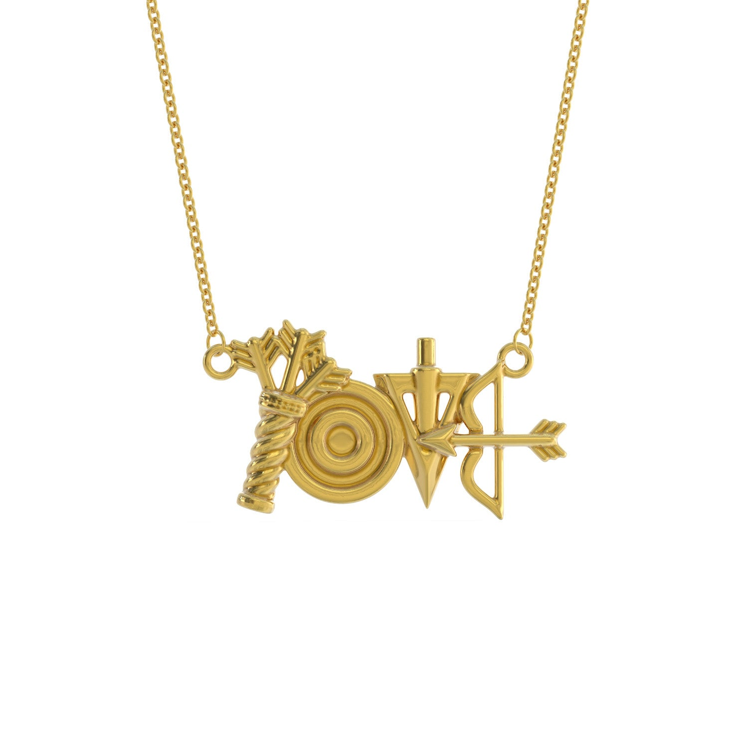 Love Archery Necklace