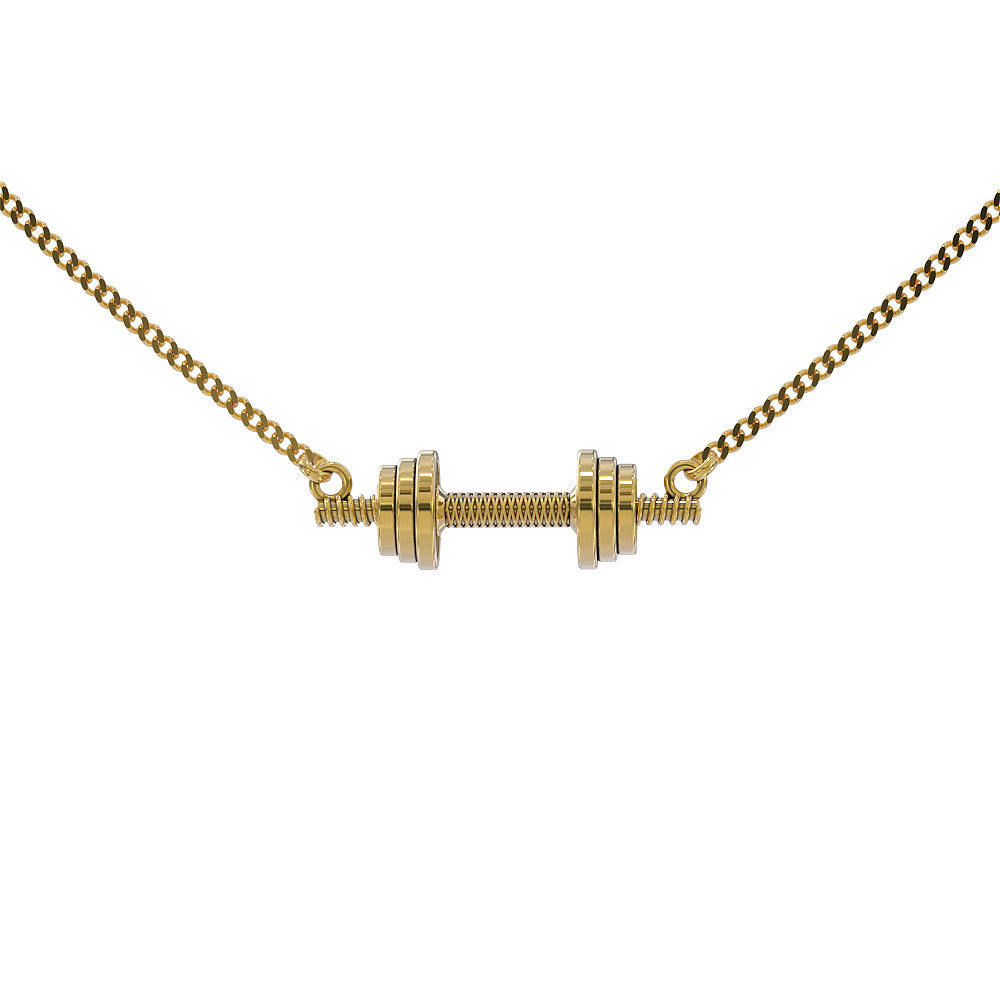AA Dumbell Workout Necklace - STRICTLY LIMITED EDITION