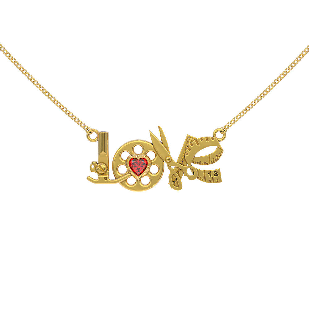 LOVE - Sewing - Birthstone - STRICTLY LIMITED EDITION