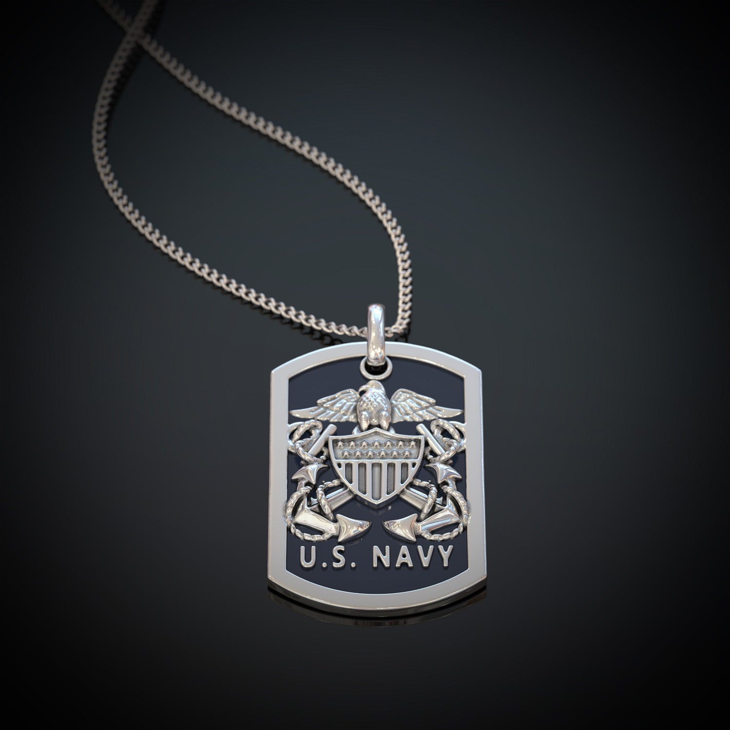 Us navy pendant shineon us navy pendant aloadofball Choice Image