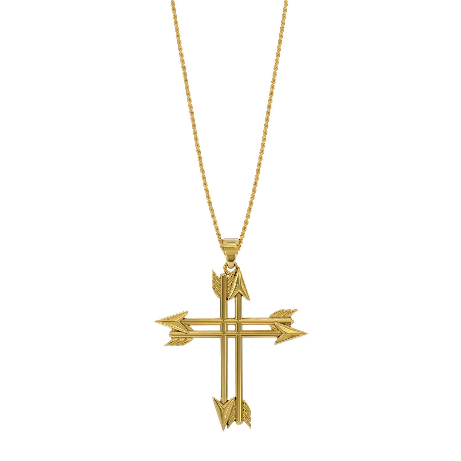 Bowhunter's Cross Necklace - STRICTLY LIMITED EDITION