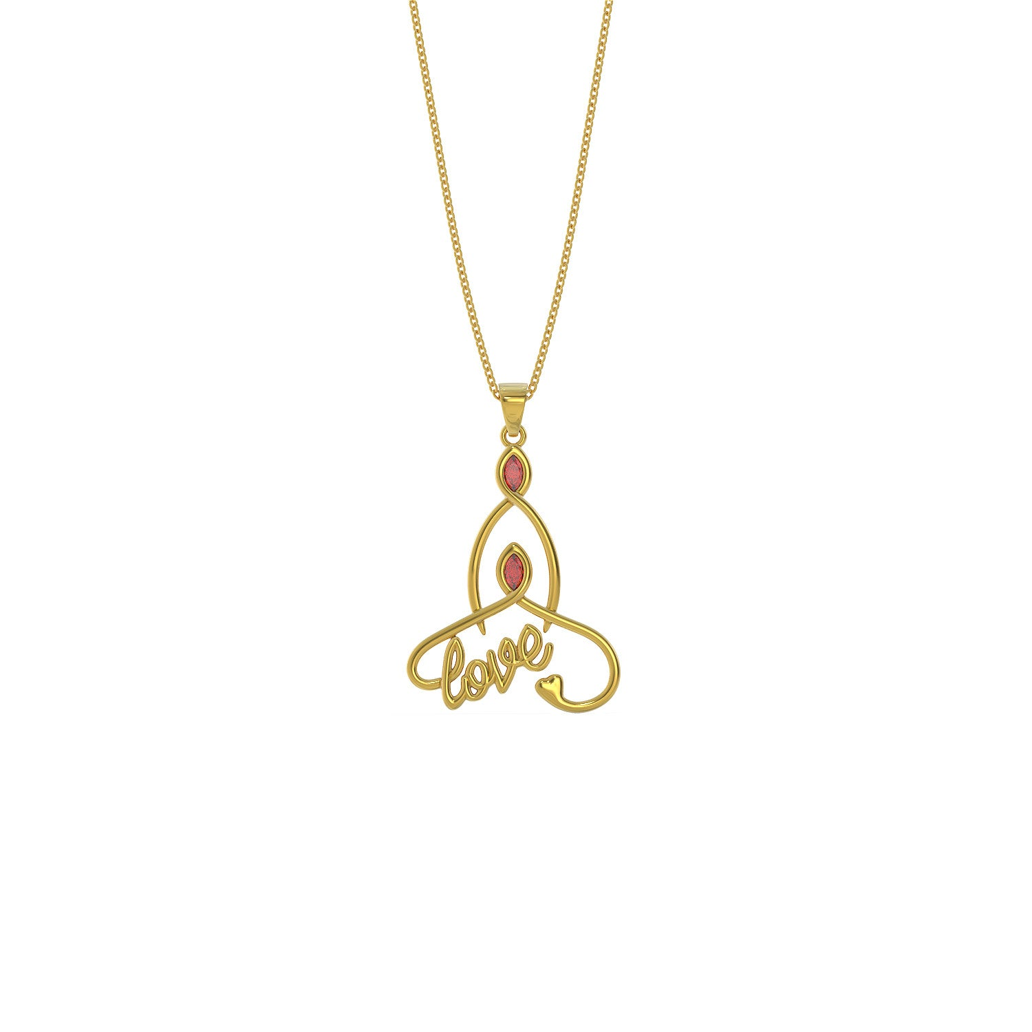 A Childs Love Pendant Necklace