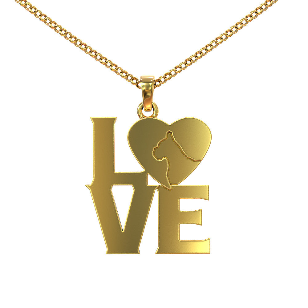 Love Boxer Necklace