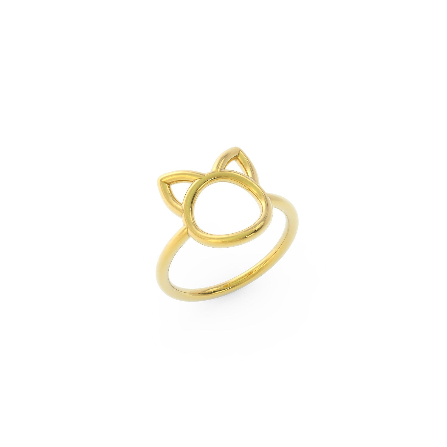 Minimalist Cat Ring