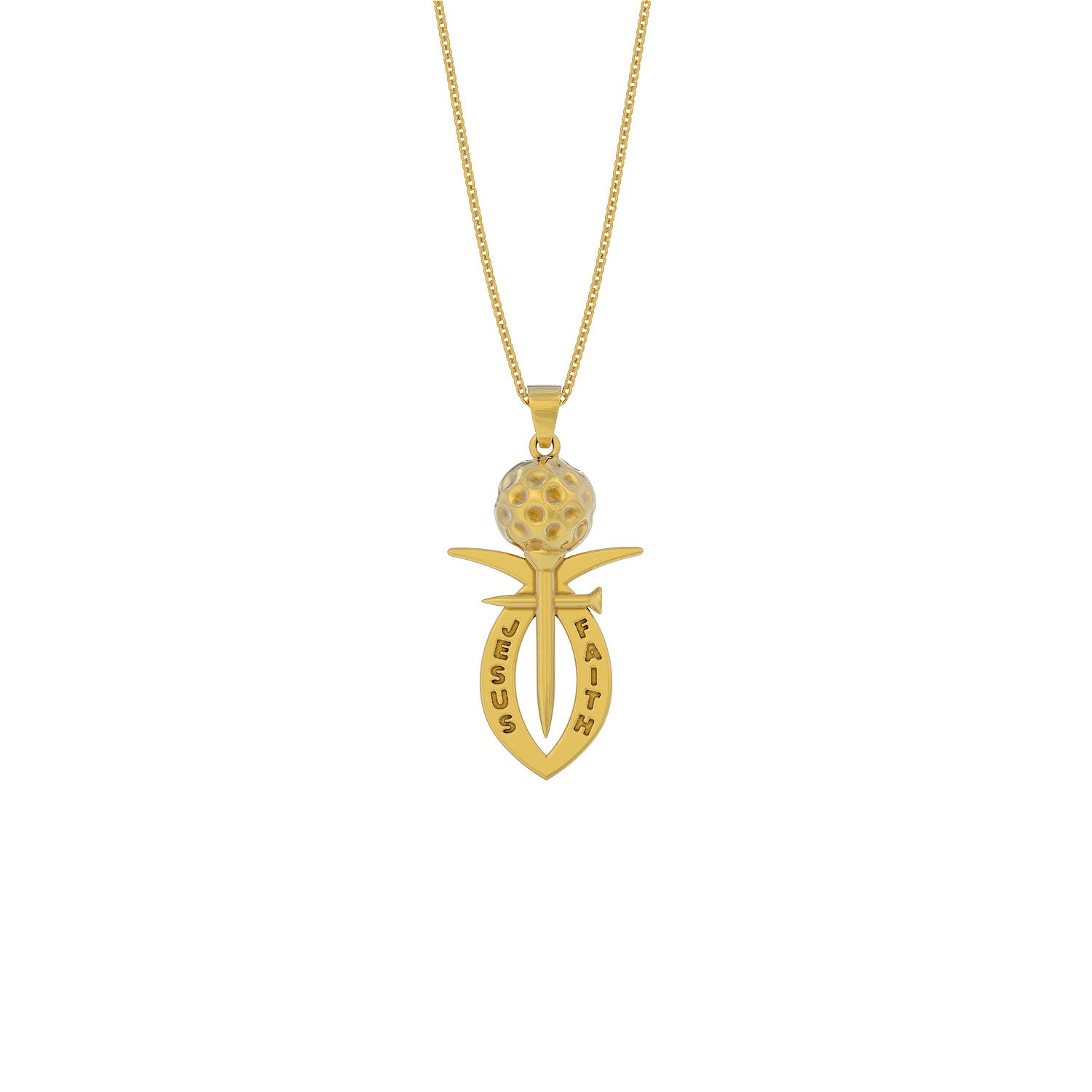 Golf Faith Necklace