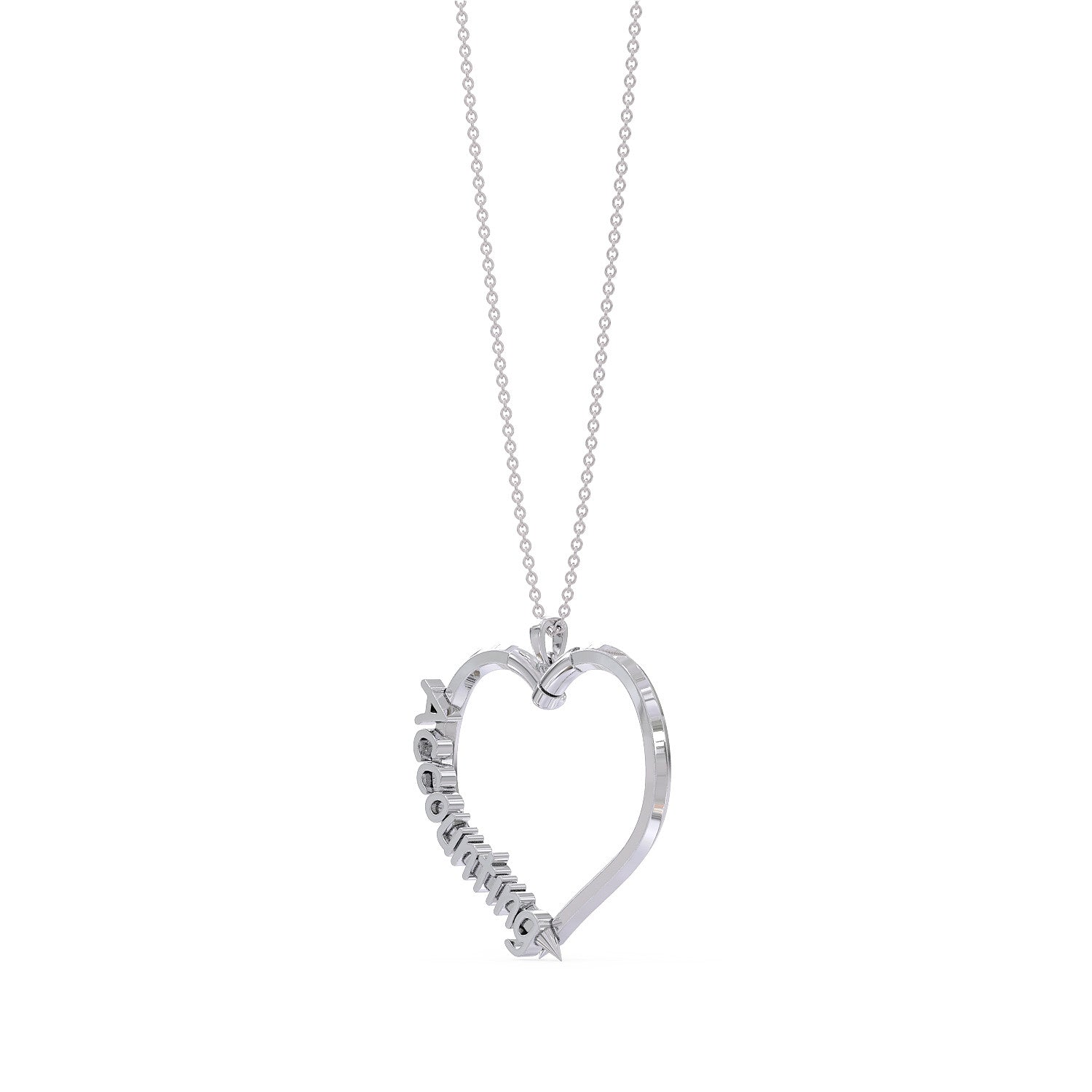 Love Accounting Necklace
