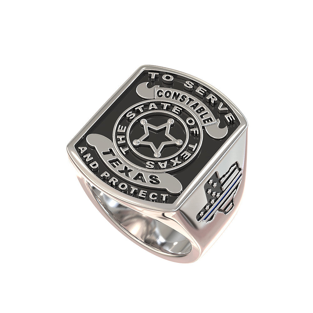 Texas Constable Ring - Limited Edition