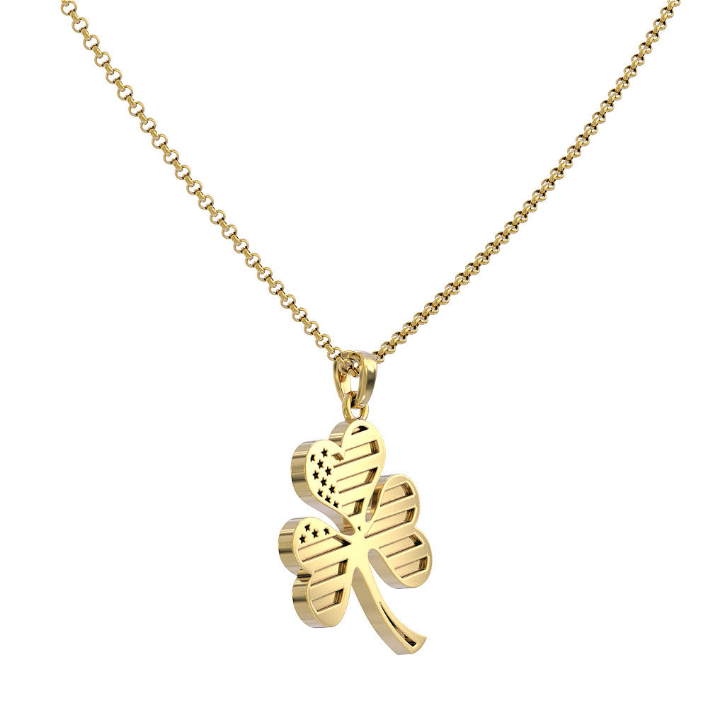 American Shamrock Necklace