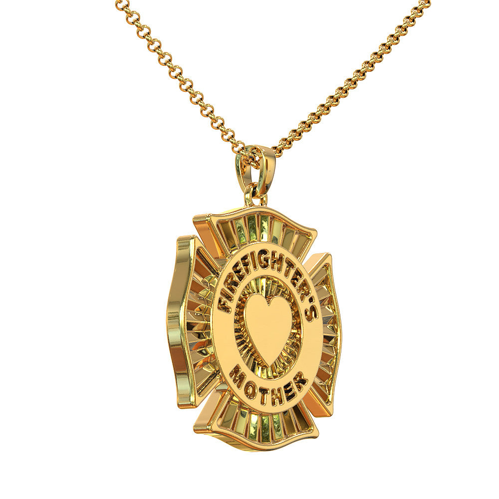 Firefighter's Mother Pendant