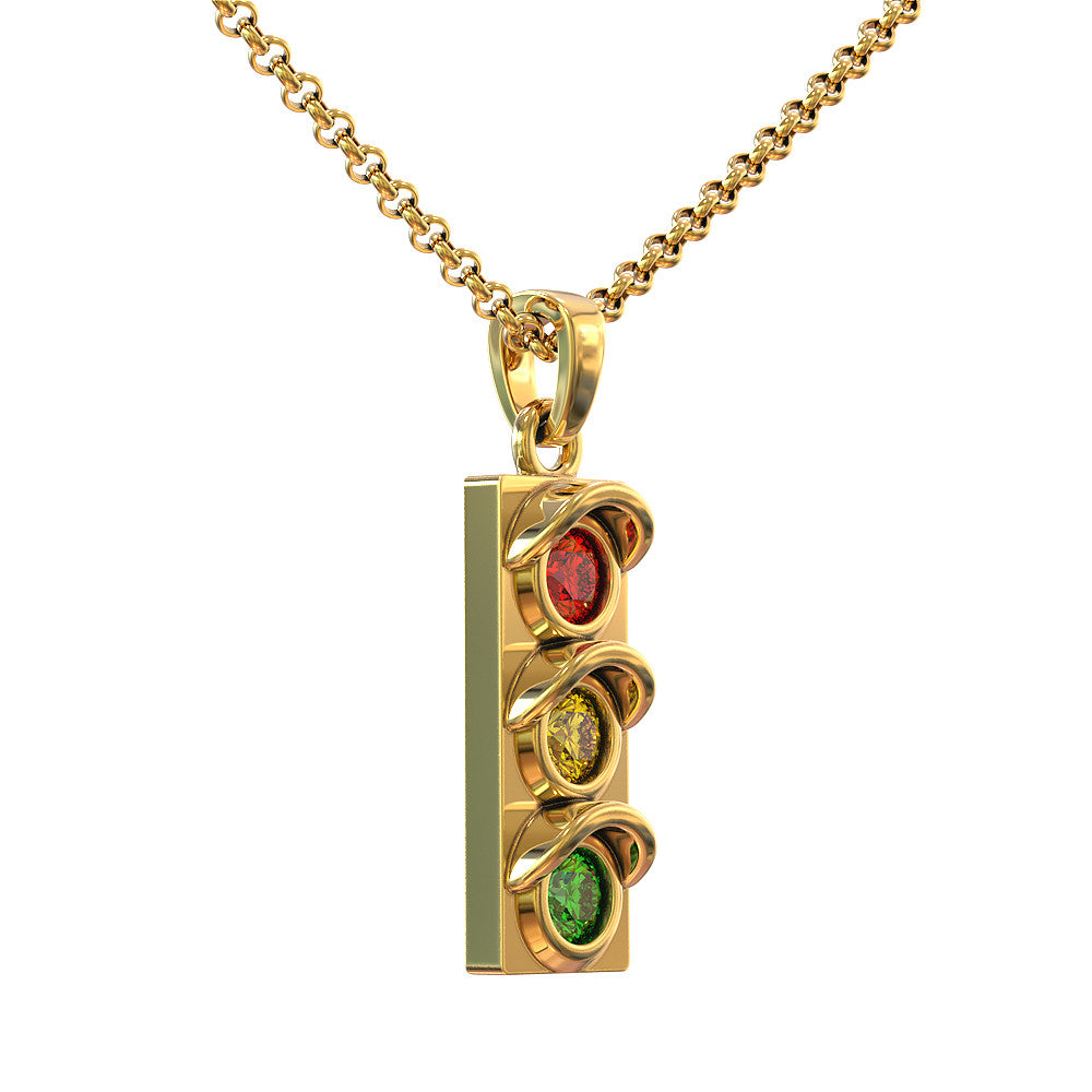 Traffic Light Pendant