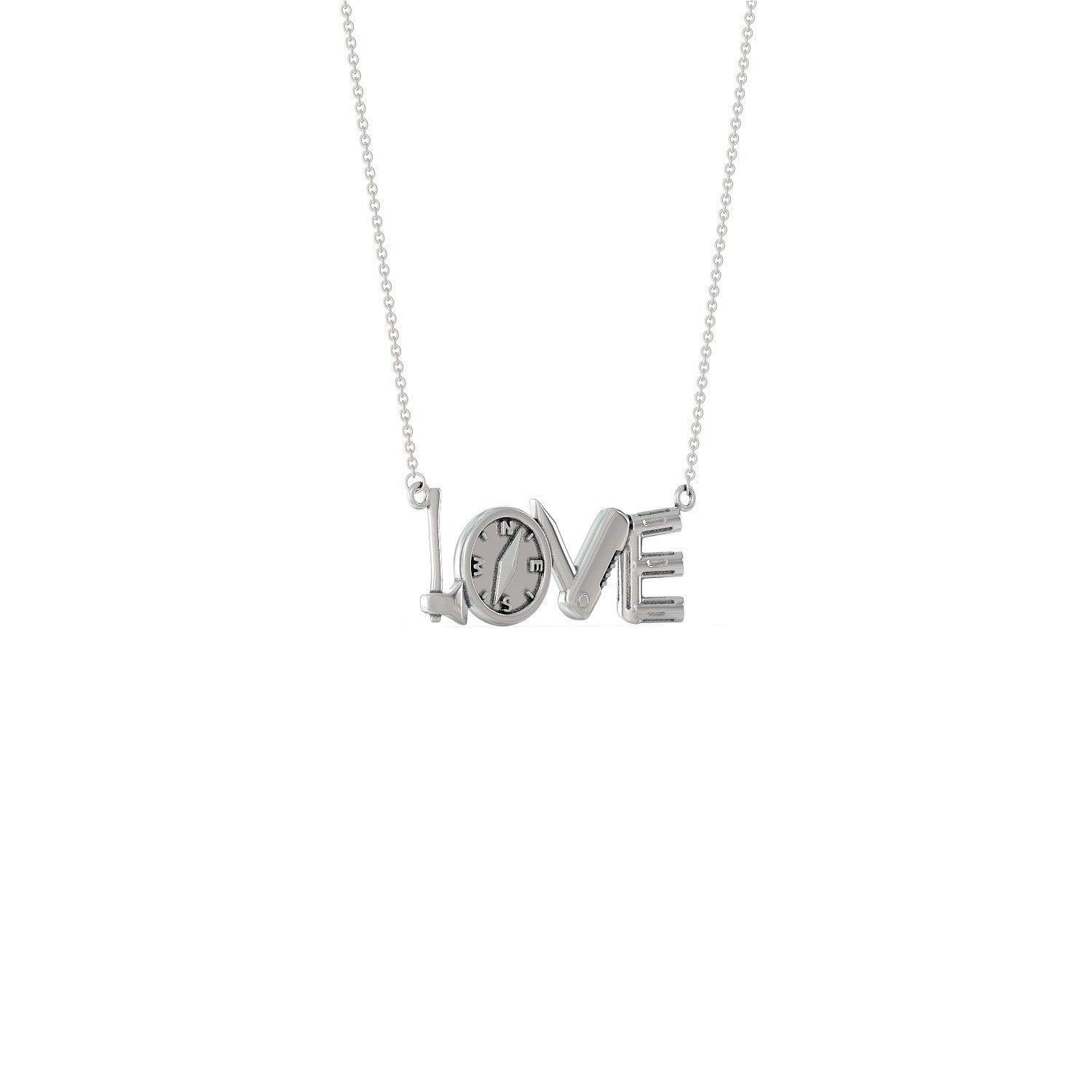 Love Camping Necklace