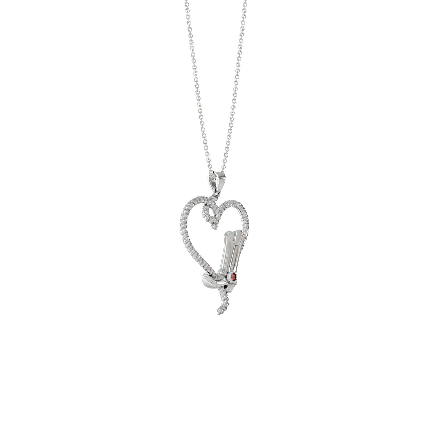 Cowgirl Heart Necklace