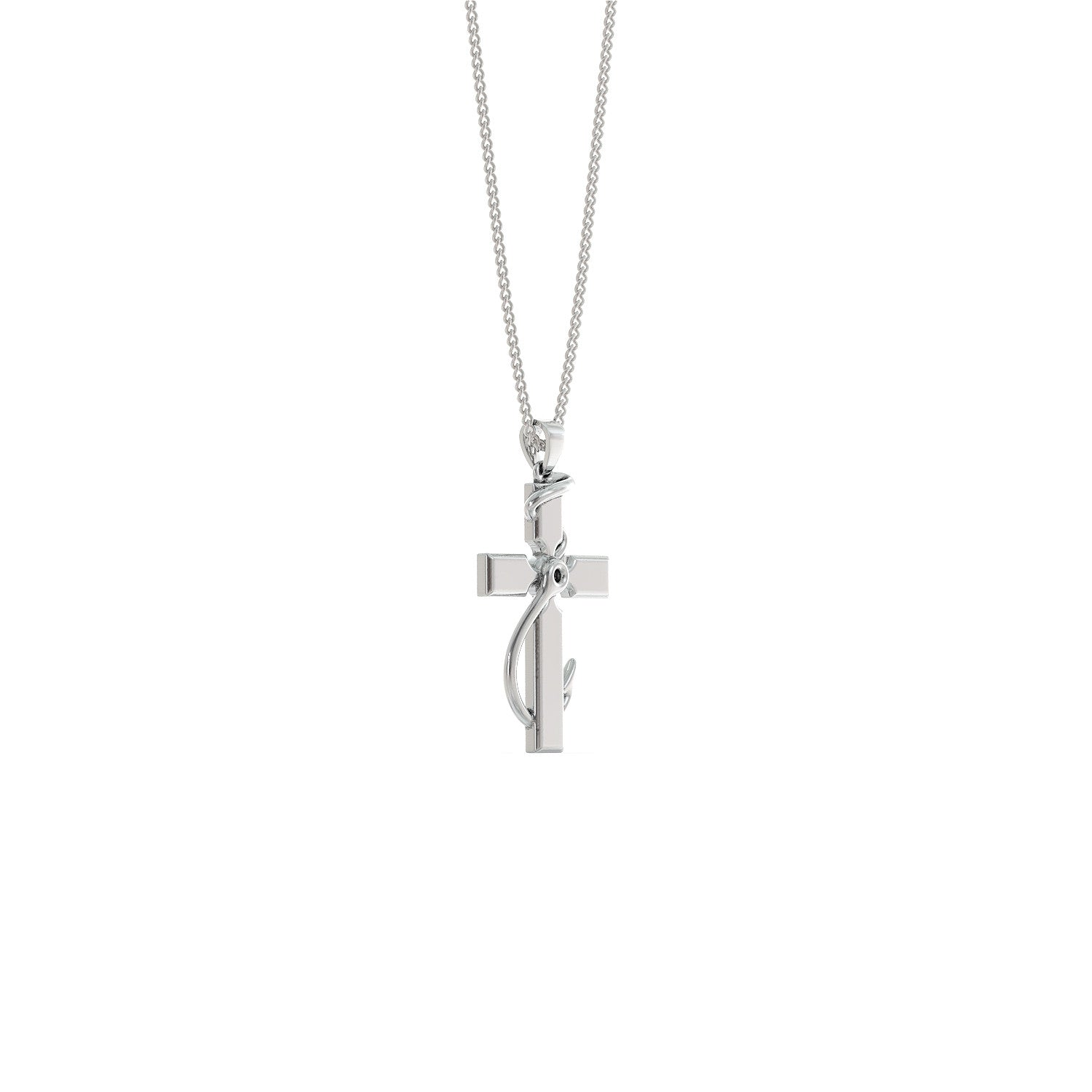 Faith & Fishing Pendant Necklace