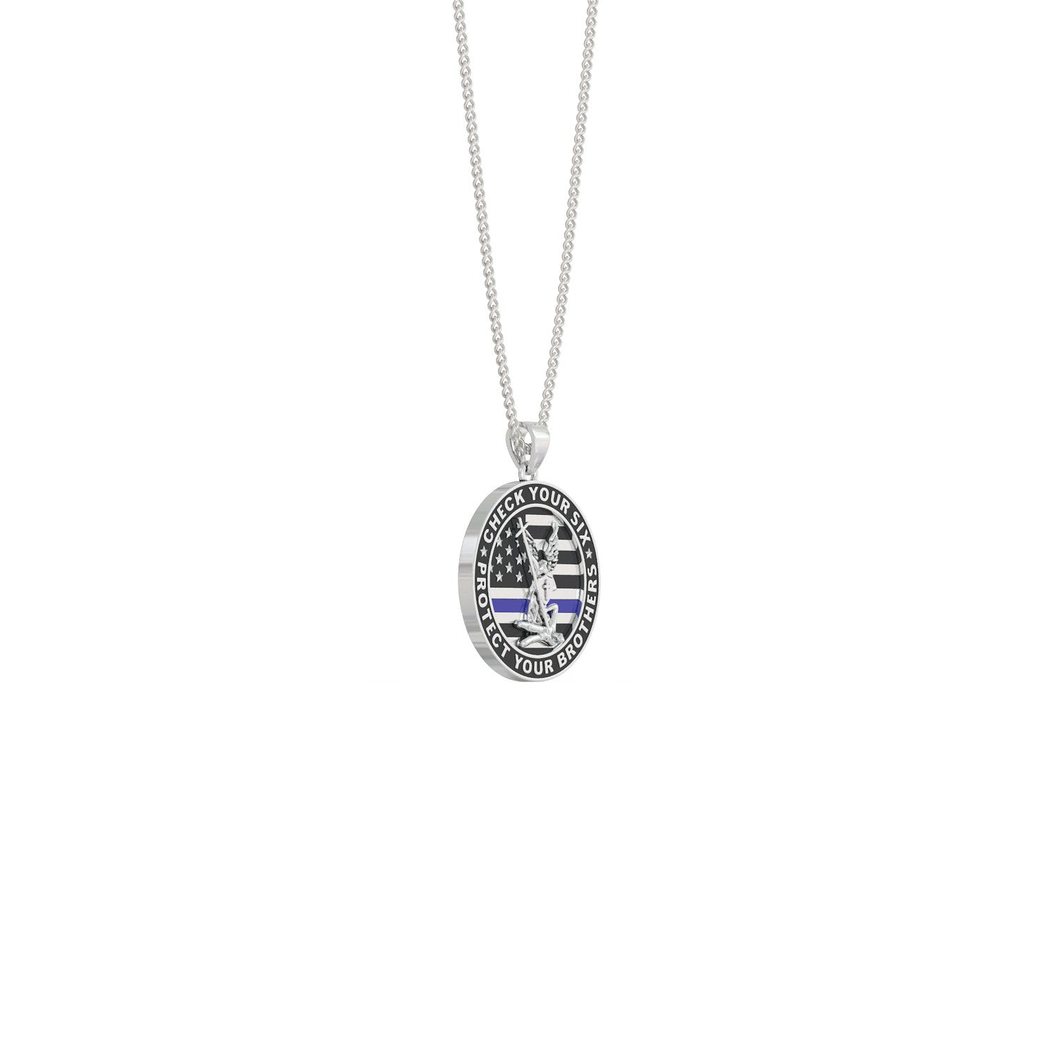 Protect Your Brothers Pendant Necklace
