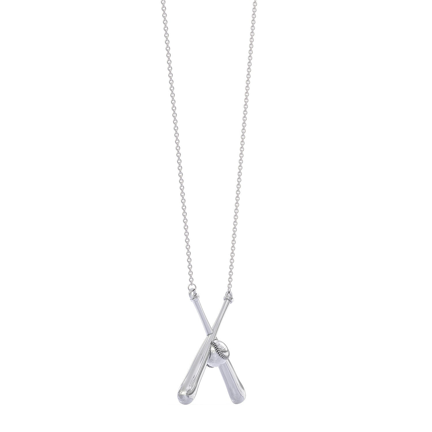 chain cross products inch pendant with baseball number custom silver front fivetool home all in bat plate