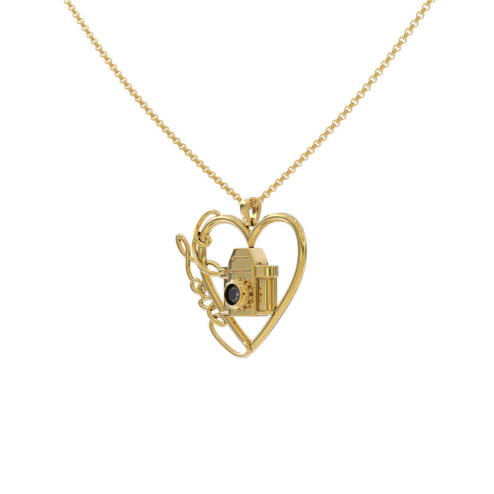 Photography Love Necklace