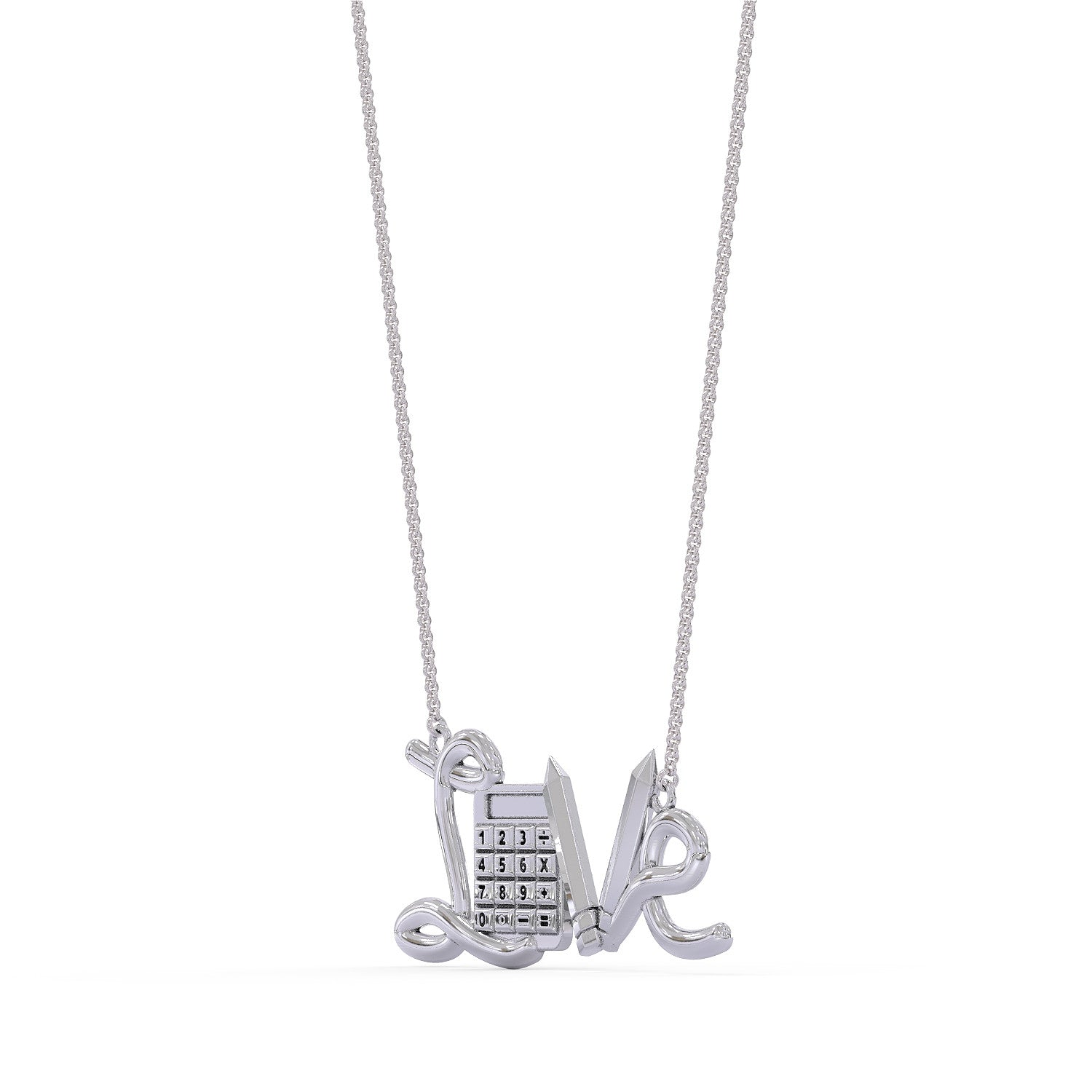 Accountant Love Necklace