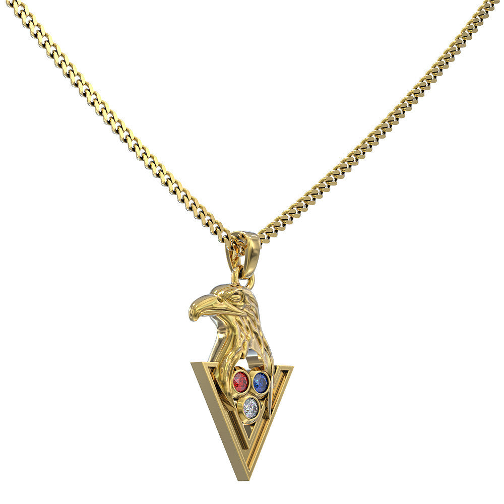 I Am A US Veteran Necklace