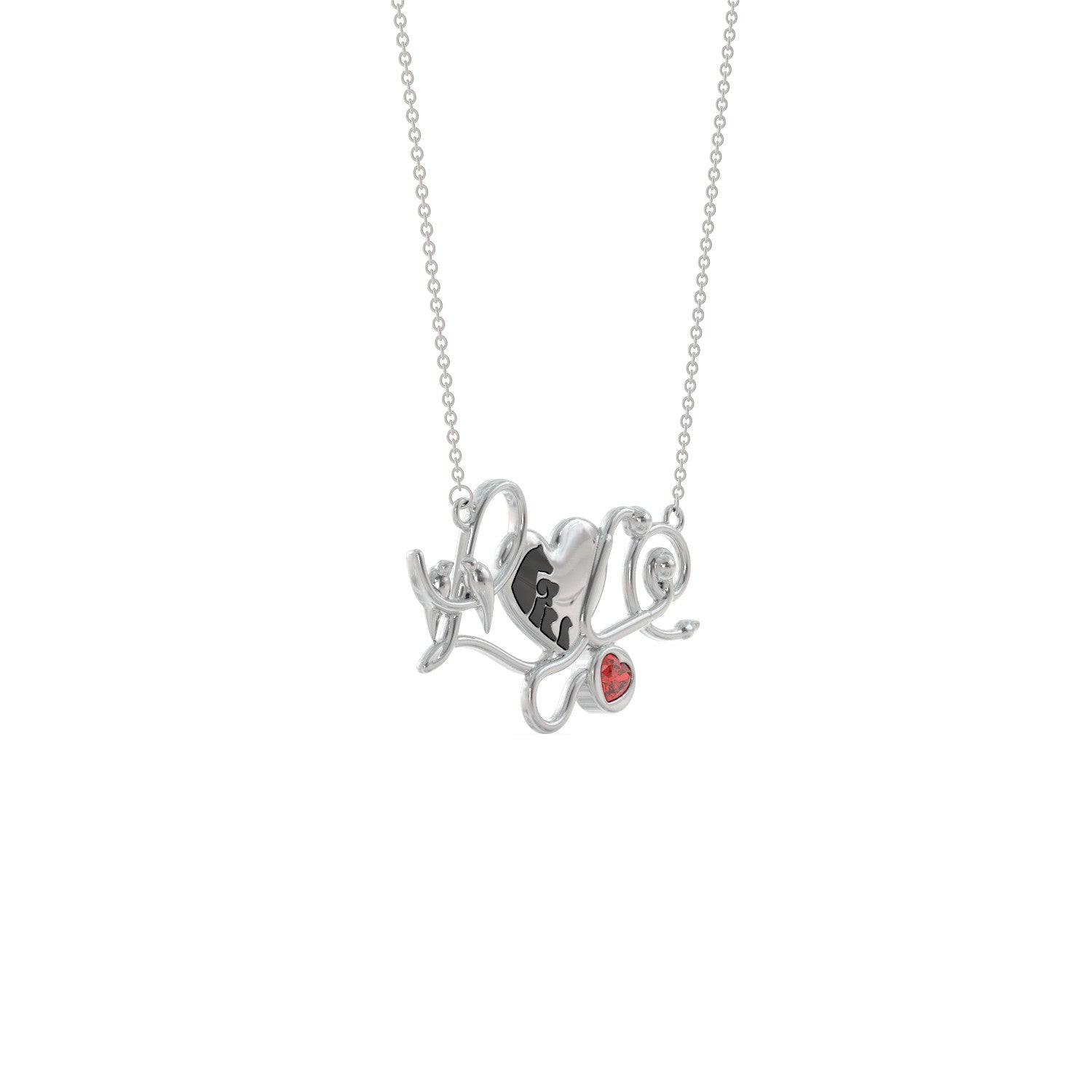 Vet Tech LOVE Necklace