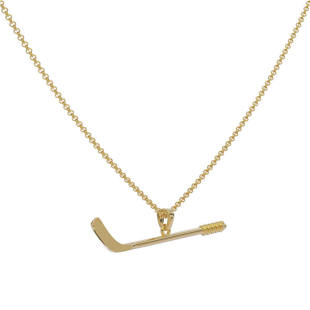 Hockey Stick Necklace