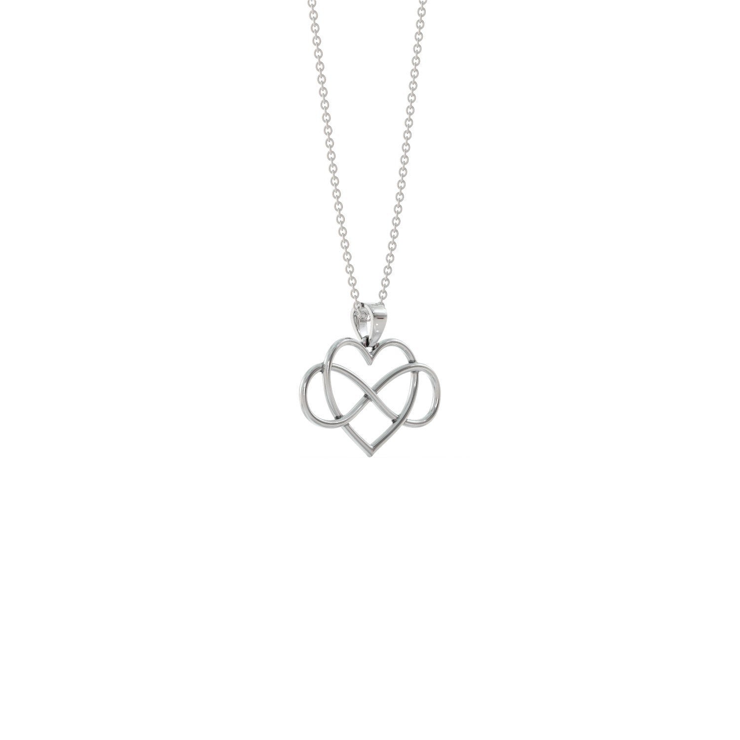 Heart Infinity Necklace