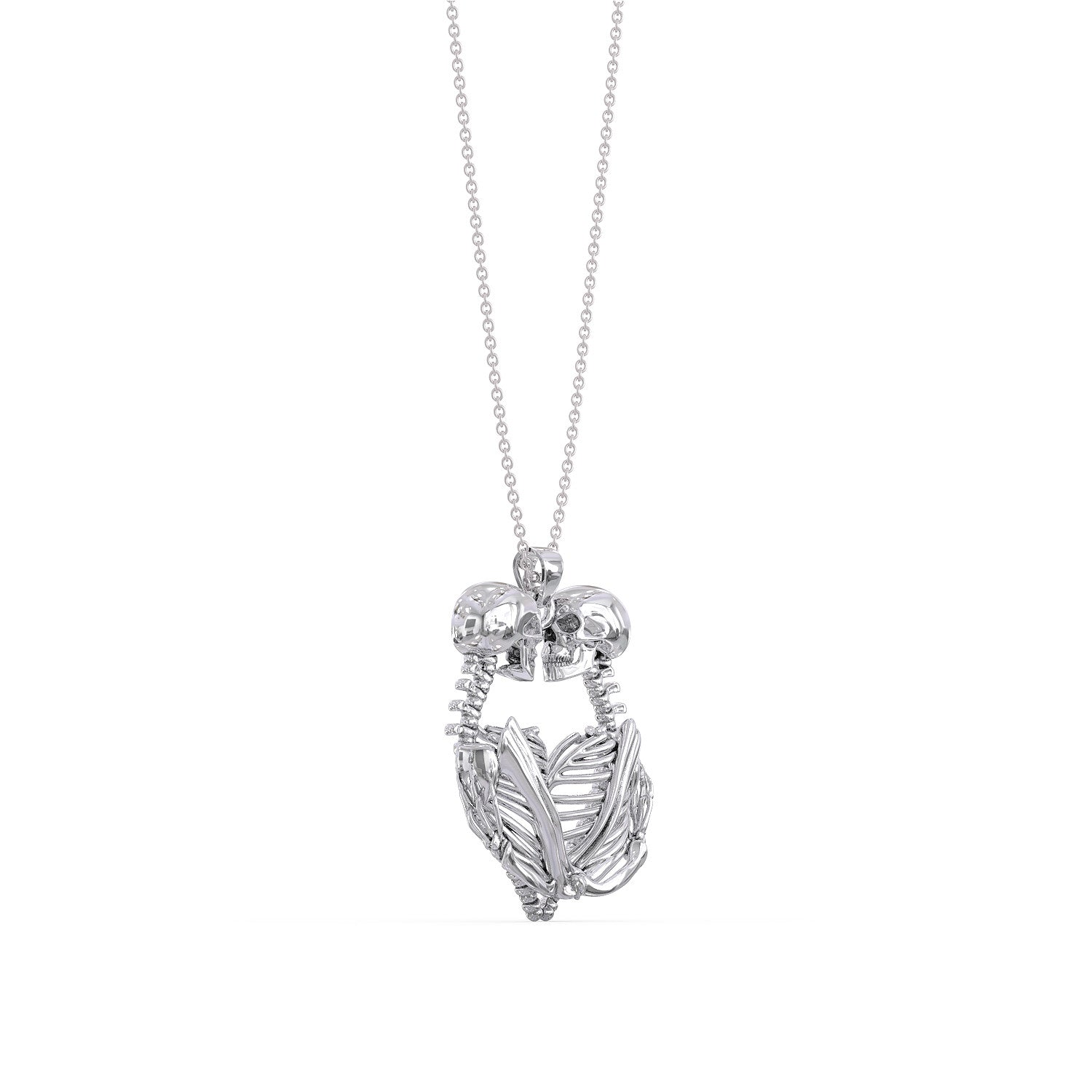 Love Skull Necklace
