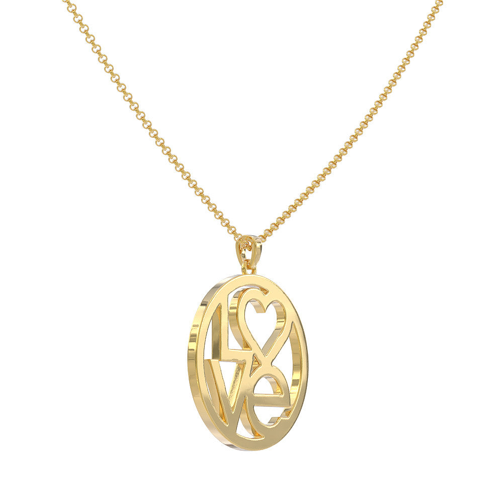 Love Circle Pendant - STRICTLY LIMITED EDITION