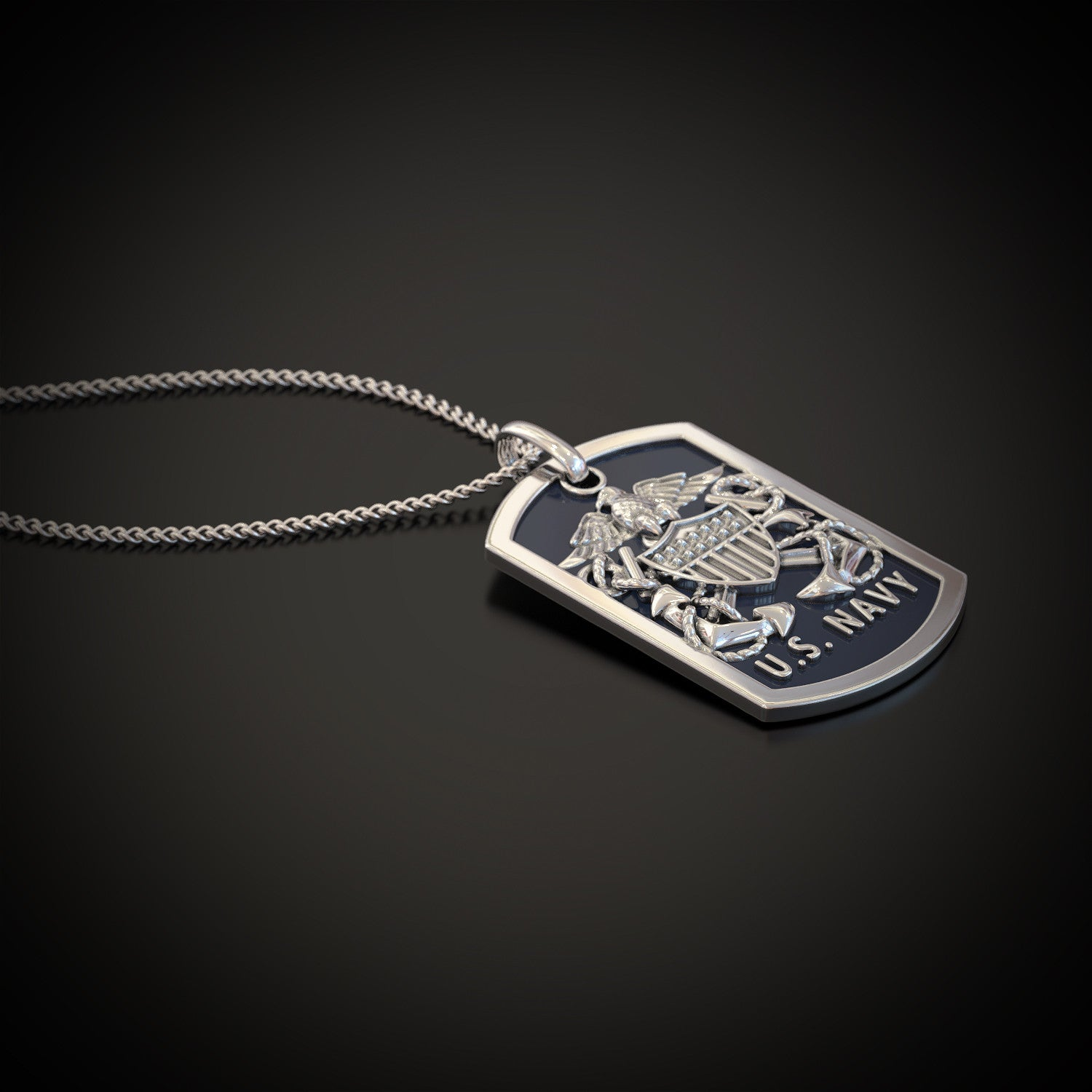 Us navy pendant shineon us navy pendant mozeypictures Images