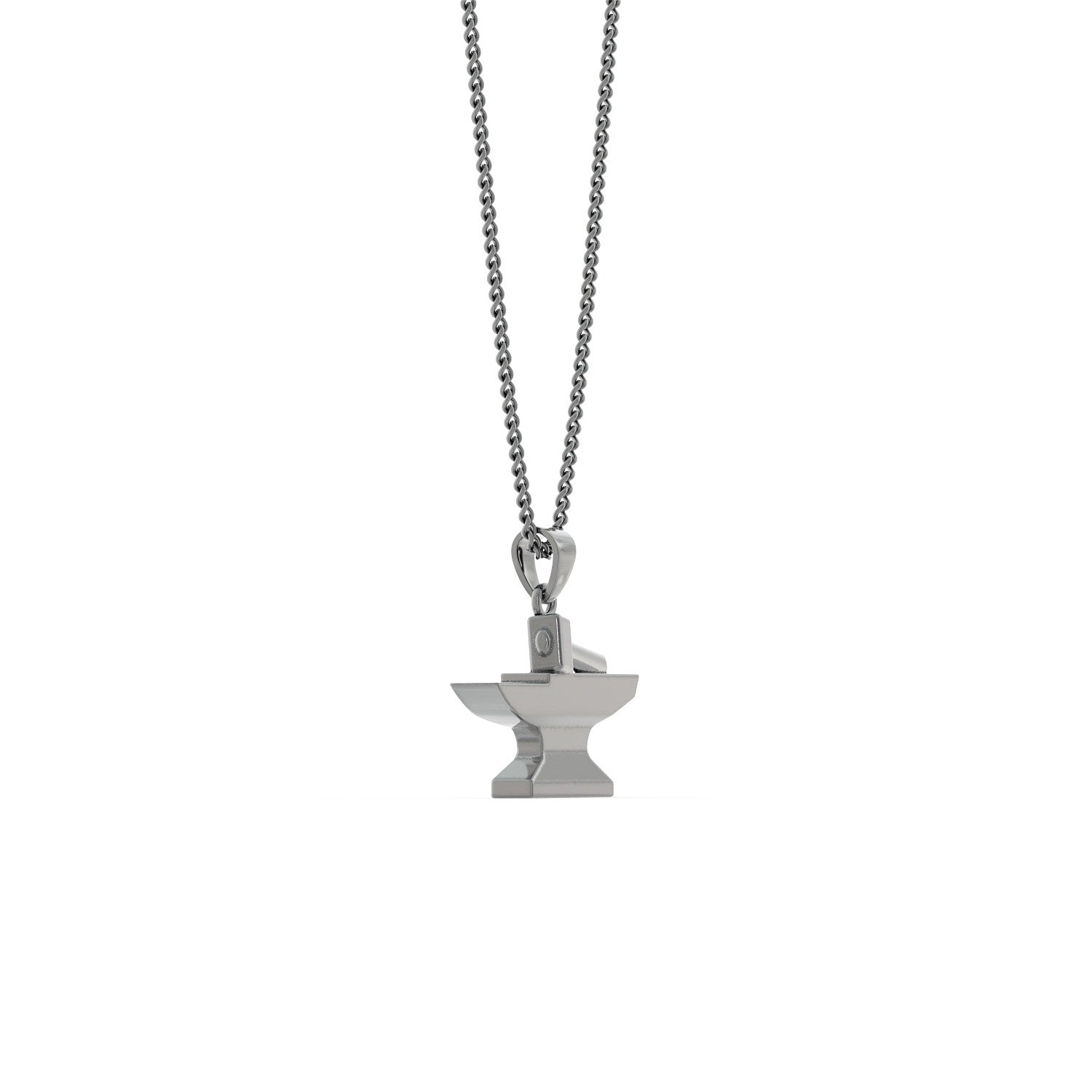 Hammer and Anvil Necklace