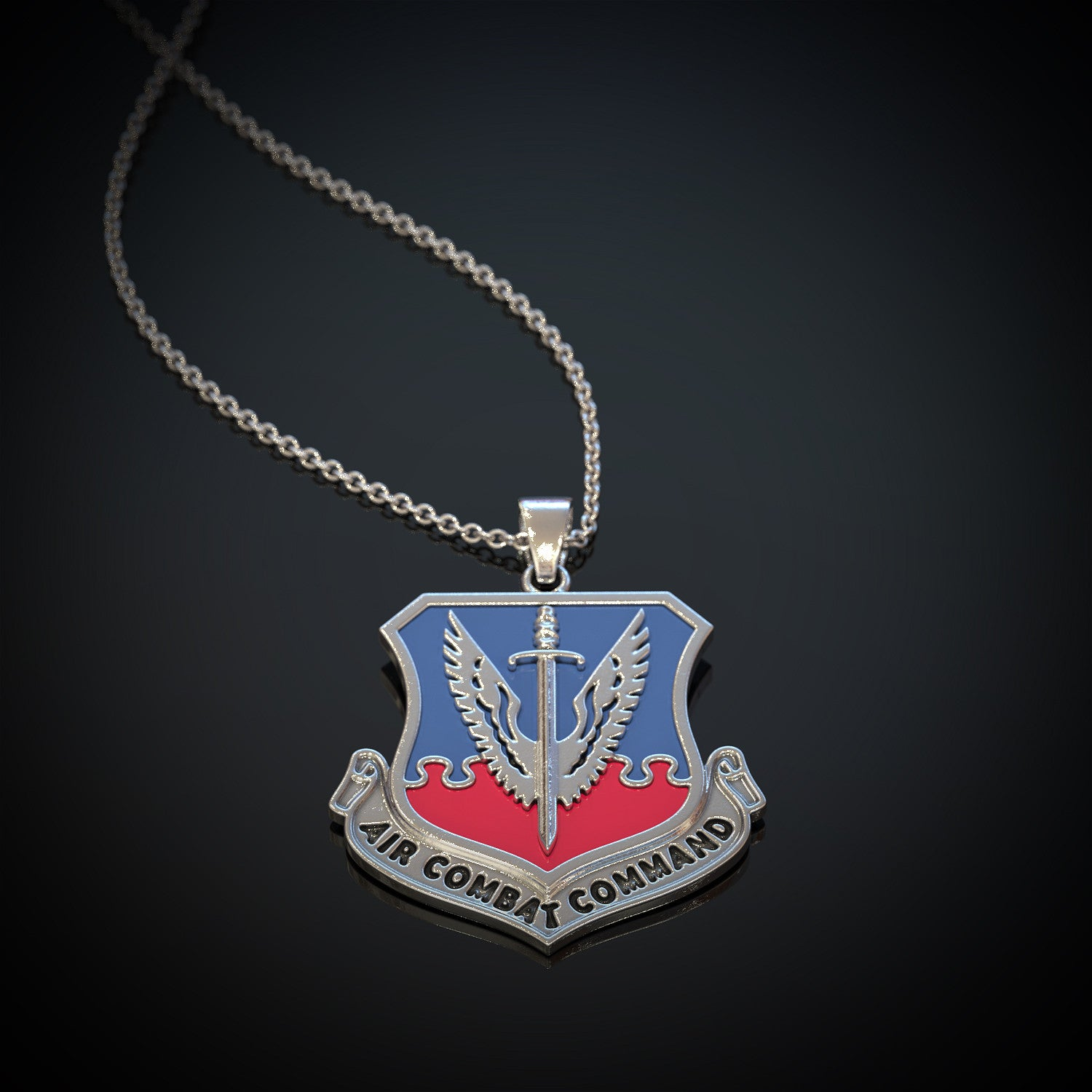 US Air Force Air Combat Command Pendant