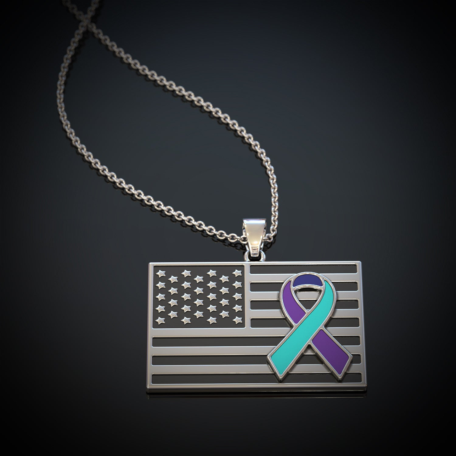 Suicide Awareness Flag
