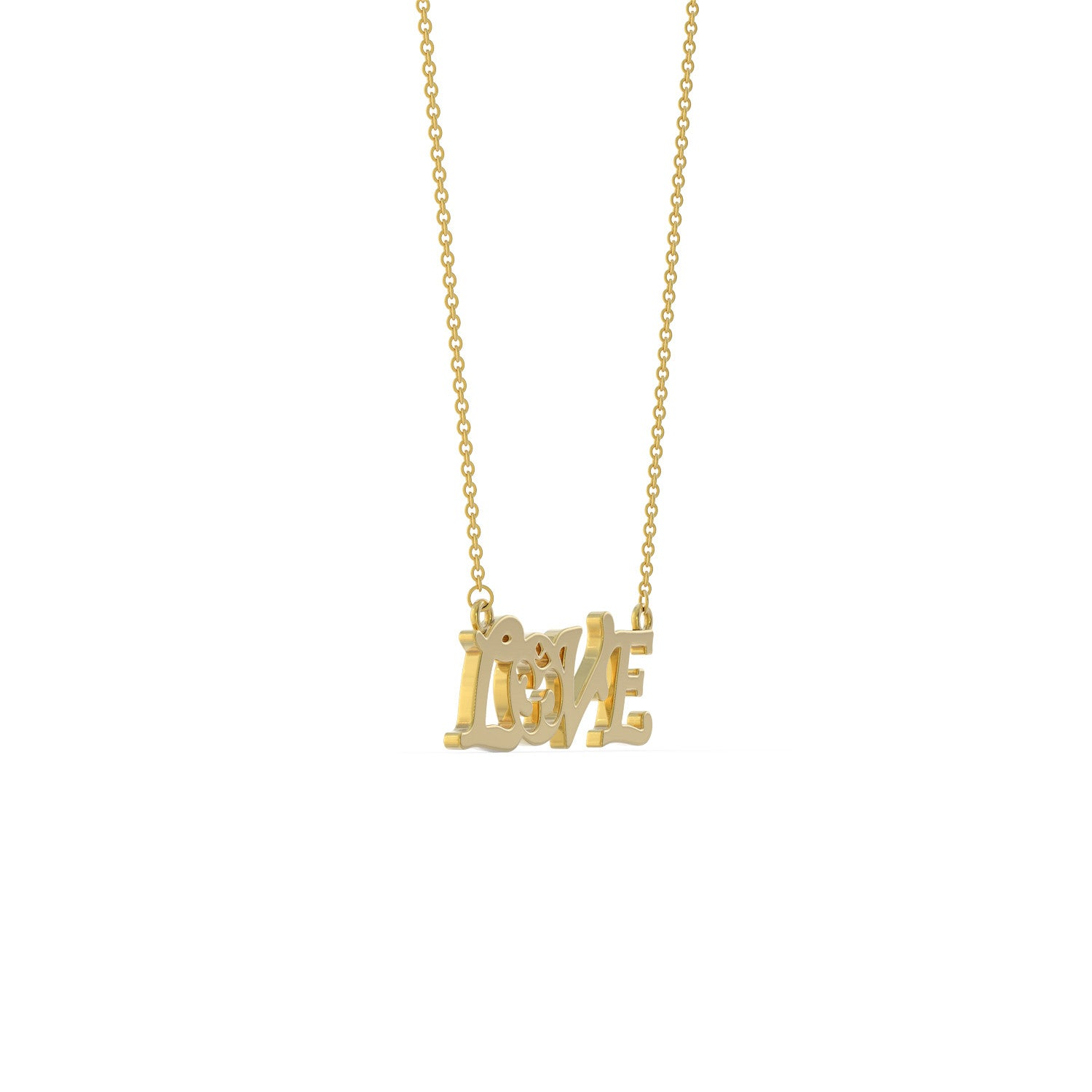 Love Om Necklace
