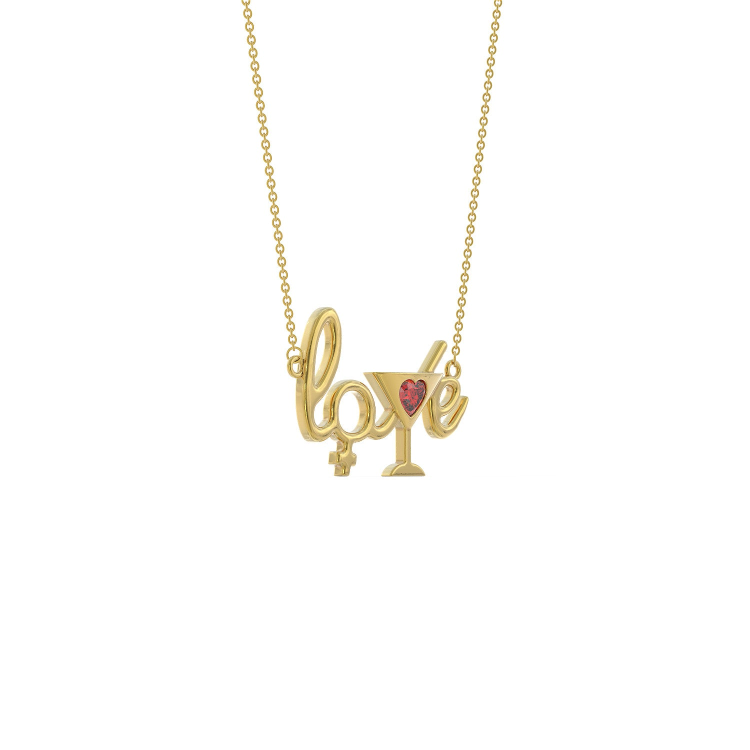 Love Cocktail Necklace