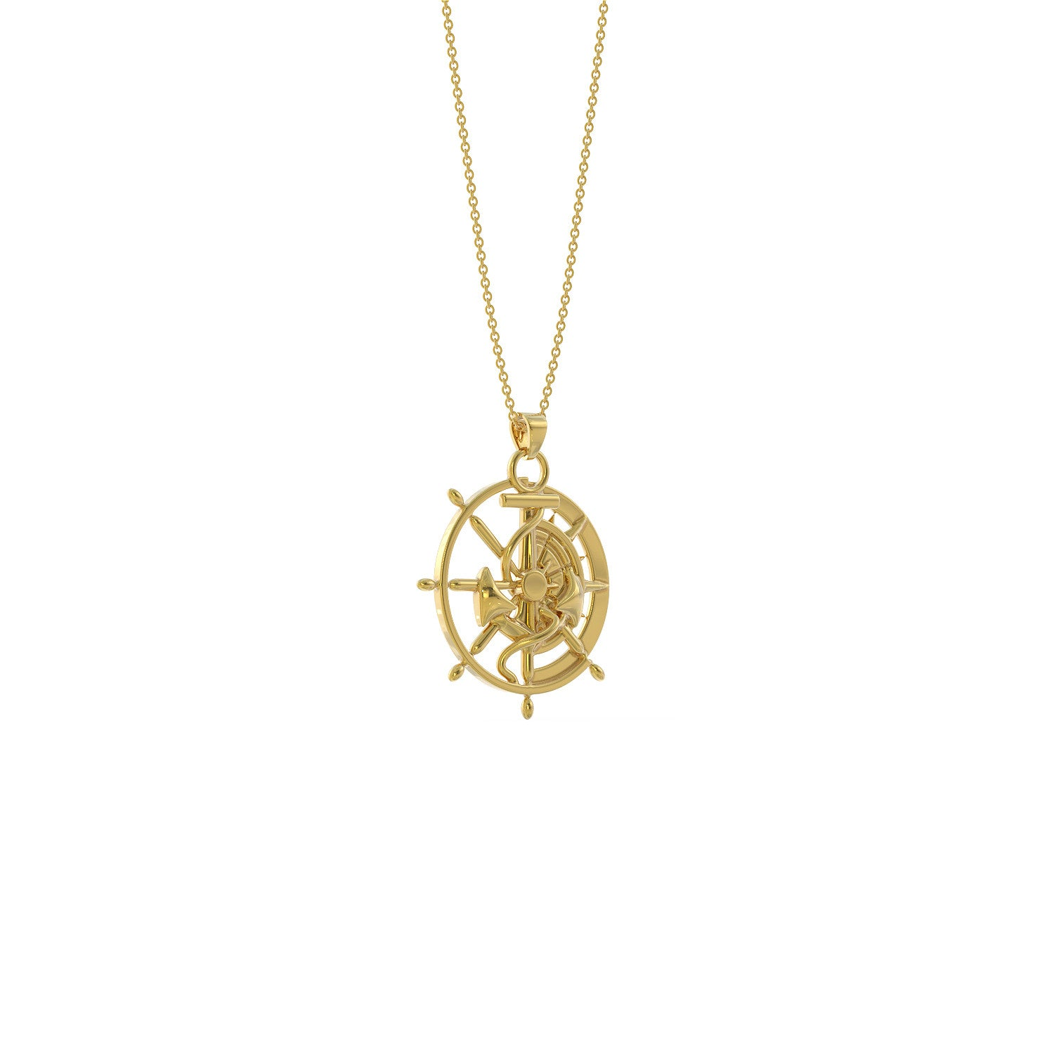 Sailing Wheel Necklace - LIMITED EDITION