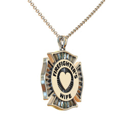 Firefighter's Wife | Mother | Daughter Pendant