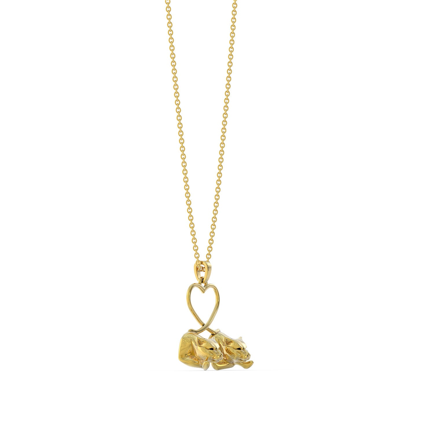 Leopard Love Necklace
