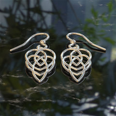 Irish (Celtic) Motherhood Knot Earrings